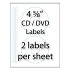 CD / DVD Labels | 2-up