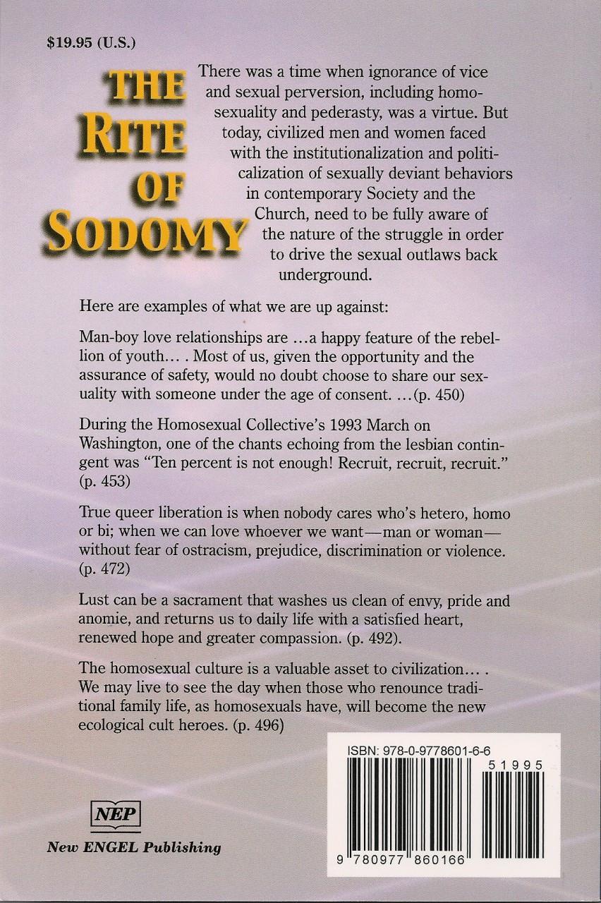 The Rite of Sodomy - Volume V