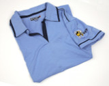 Women's polo shirt.
