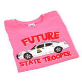 Future Trooper Pink Charger T-Shirt