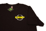 UHP Black T-shirt With Flag