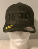 UHP Black Embroidered Hat