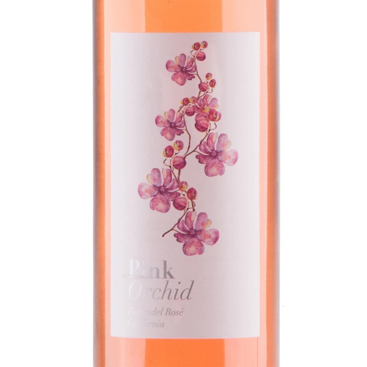 Pink Orchid California Zinfandel Rose Wine 75cl