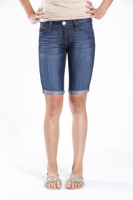 Mavi Jessica Bermuda Short in Dark Dallas