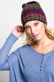 V.Fraas Slouchy Toque in Black