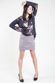 Gentle Fawn Jethro Skirt in Opal Grey