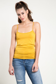 C'est Moi Bamboo Cotton Cami in Honey