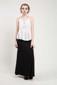 Nanavatee Maxi Skirt in Black