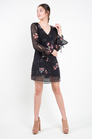 Gentle Fawn Tatiana Dress in Black Flash Floral