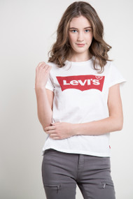 Levis The Perfect Large Batwing Tee in White
