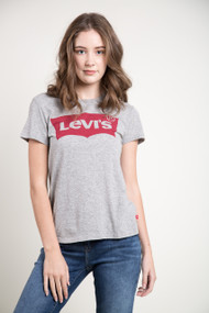 Levis The Perfect Better Batwing Tee in Grey