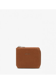 Matt & Nat Watson Vintage Wallet in Chili Matte Nickel