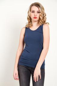 C'est Moi Bamboo Reversable Cami in Midnight