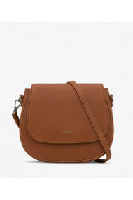 Matt & Nat Rubicon Vintage Crossbody Bag in Chili Matte Nickel