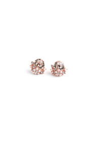 Lover's Tempo Sunrise Post Earrings in Pink