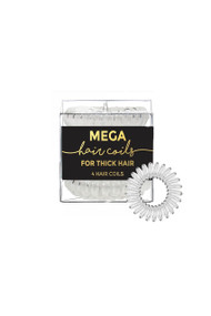 Kitsch Mega Hair Coils in Transparent