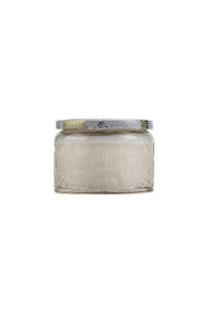 Voluspa Small Embossed Jar Candle in Panjoree Lyche