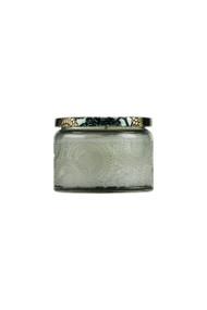 Voluspa Small Embossed Jar Candle in French Cade Lavendar