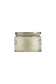 Voluspa Small Embossed Jar Candle in Nissho Soleil