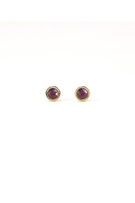Lover's Tempo Swarovski Mini Post Earrings in Orchid