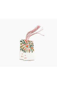 Rifle Paper Co. Pack of 10 Winter Berries Gift Tags