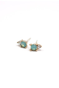 Lover's Tempo Dolce Studs in Pacific Opal