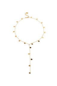 Lover's Tempo Fool's Gold Lariat in Gold