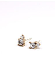 Lover's Tempo Dolce Studs in Clear