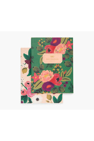 Rifle Paper Co. Pair of 2 Vintage Blossoms Notebooks