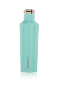 Corkcicle 16oz Canteen in Gloss Turquoise