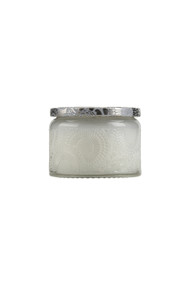Voluspa Small Embossed Jar Candle in Mokara