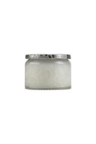 Voluspa Small Embossed Jar Candle in Mokara