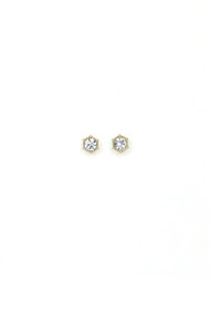 Lover's Tempo Astrid Stud Earrings in Clear
