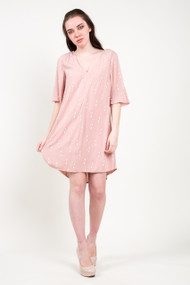 Gentle Fawn York Dress in Rose Dust