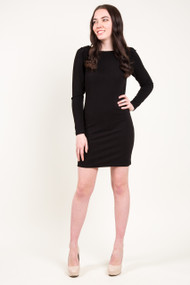 Gentle Fawn Carol Dress in Black