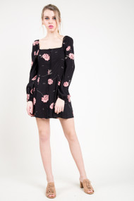Amuse Society Easy On The Eyes Dress in Black