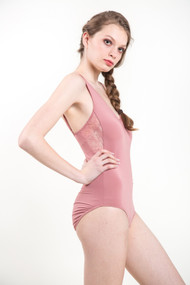 Gentle Fawn Catalina Bodysuit in Ash Rose