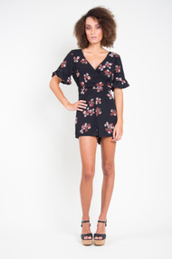 BB Dakota Orchard Stroll Romper in Black