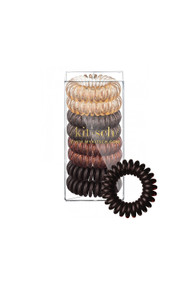 Kitsch 8 Pack Hair Coils in Brunette