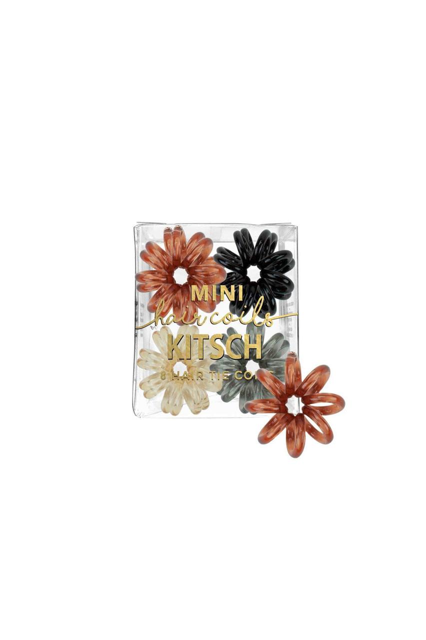 Brunette  Kitsch Official 8 Pack Mini Hair Coils