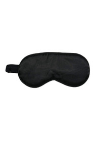 Kitsch Satin Eye Mask in Black