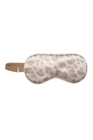 Kitsch Satin Eye Mask in Leopard