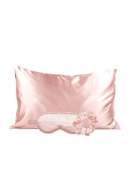 Kitsch Satin Sleep Set in Blush