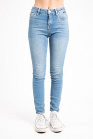 Mavi Tess High Rise Skinny in Mid Indigo Vintage