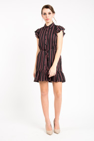 BB Dakota City Lines Dress in Black
