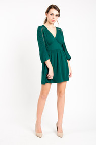 Jack Wishful Thinking Dress in Pine Green
