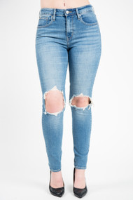 Levis 721 High Rise Skinny in Rugged