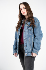 Levis Baggy Trucker Jacket in Bust A Move
