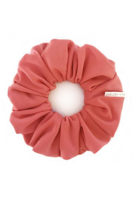 Chelsea King Active+Swim Scrunchie in Coral