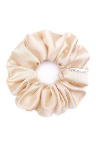 Chelsea King Satin Sleep Scrunchie in Champagne